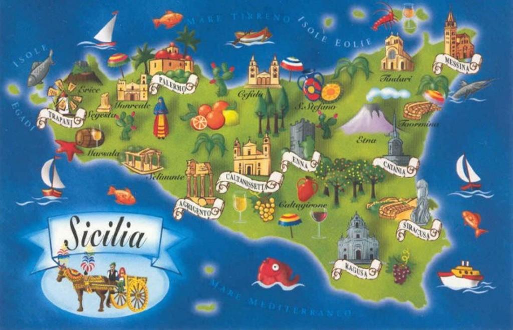 La Sicilia, il luogo dove si mangia meglio al mondo.
